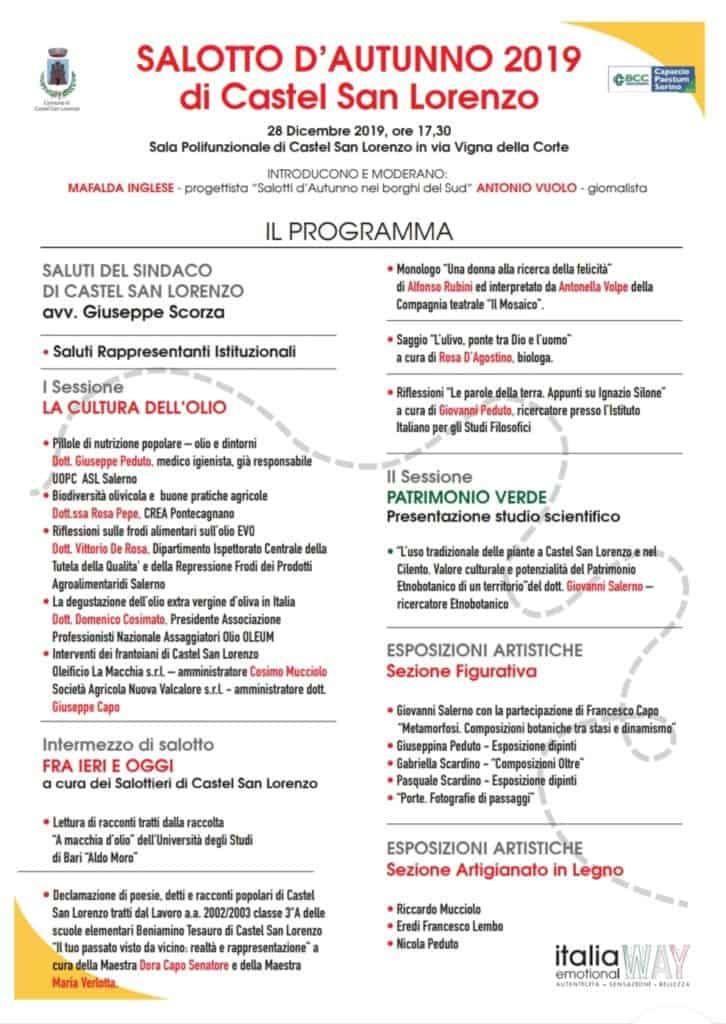 Programma Salotto Castel S.L