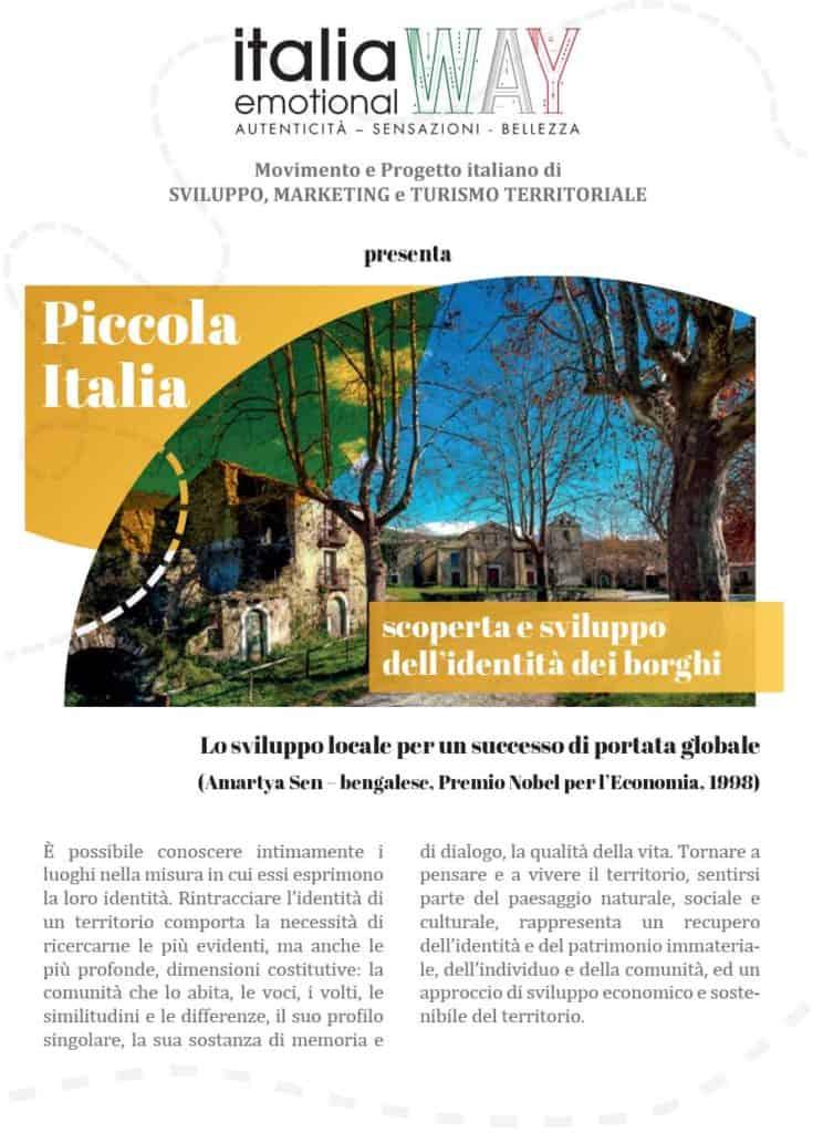 VOLANTINO PICCOLA ITALIA 1